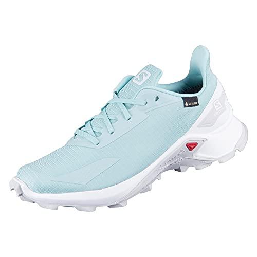Salomon Damen Alphacross Blast GTX, Wasserdichte Trail Running Schuhe,Mintgrün (Pastel...