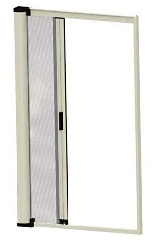 Mosquitera enrollable para ventanas correderas laterales reducibles 9010 blanco