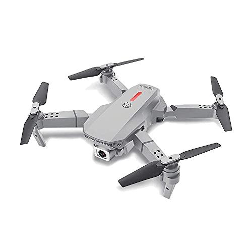 Drone pieghevole Quadcopter 4K Aereo a doppia fotocamera Telecomando Aereo Luce notturna a LED Traiettoria Dito Volante Rotolo acrobatico a 360 gradi Modalità senza testa Operazione con un solo tast
