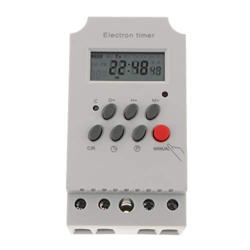 MERIGLARE Temporizador de Relé Intermedio Digital Programable con Micro Relé Ac220 240v