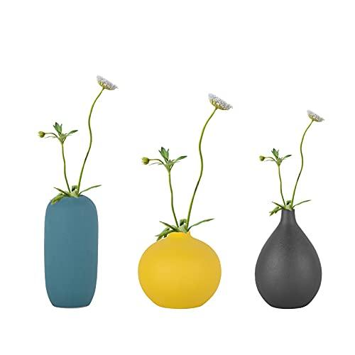 Ceramic Vase Set-3 Home Decoration Ideal Shelf Décor, Table Décor,...