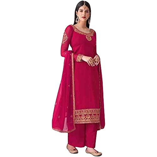 JIVRAJ FASHION Indische schöne Anarkali Anzug Soft Net Salwar Kameez Pakistanische Shalwar Kameez Designer Party Wear Ethnic Stitched Ready To Wear (Wahl 4, XS UK 8 Brust 36 Taille 32 Hüften 38)