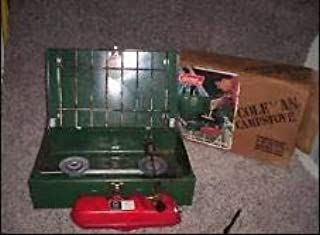 A Coleman Two Burner Camp Stove 425E499 Green