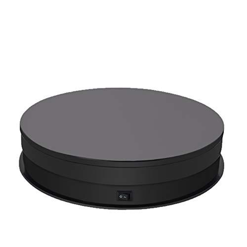 BLLXMX Showcase 360 Grad Plattenspieler, Einstellbarer Plattenspieler Mit Drehbarer Geschwindigkeit, Für Produktanzeige-Fotoshow