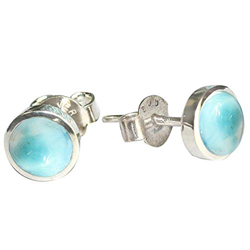 Ravishing Impressions Jewellery  -  925 Sterlingsilber  Sterling-Silber 925 Rund   Blue Larimar