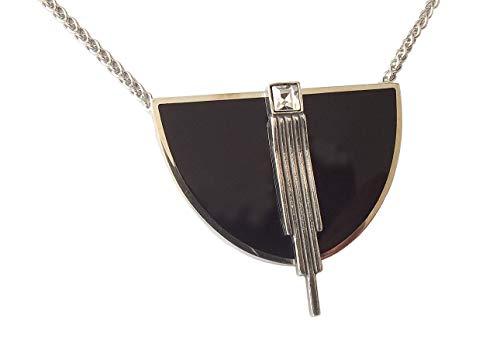 Stilvolles Art Deco Collier Halskette 925 Silber