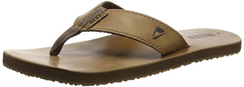 Reef Men's Leather Smoothy Sandal Bronze/Brown 9