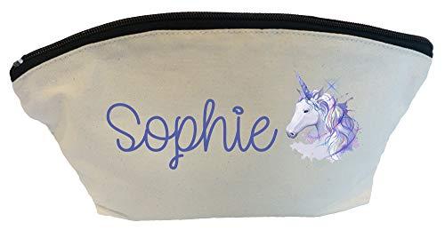 Bolsa Maquillaje Personalizable diseño Unicornio