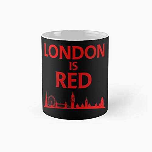London Is Red Colored Classic Mug 11 Oz.
