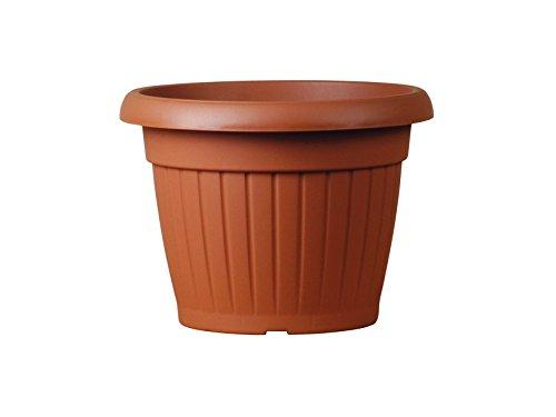 Teraplast côtelé Pot en Terre Cuite 45 cm