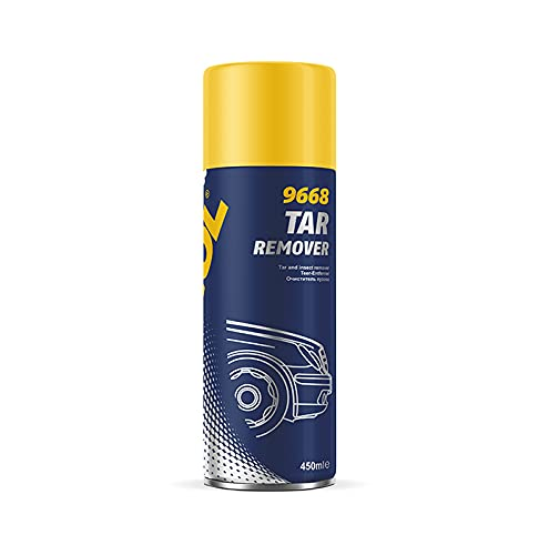 MANNOL 450 ml removedor de alquitrán activo removedor de insectos de pintura exterior limpiador de insectos (12)