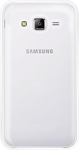The Kase Paris Carcasa para Samsung Galaxy J5(Silicona Transparente