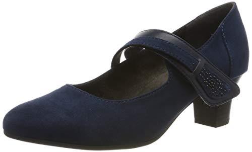 Jana Softline Damen 8-8-24401-23 Slipper, Blau (Navy 805.0), 40 EU
