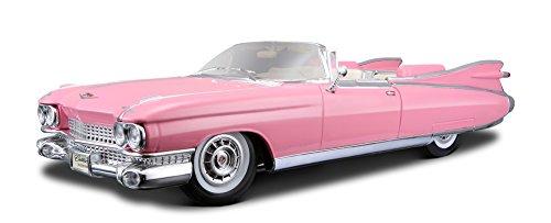 BBurago Maisto France - M36813 - Véhicule miniature - Cadillac Eldorado Biarritz - Échelle 1/18 - Couleur aléatoire
