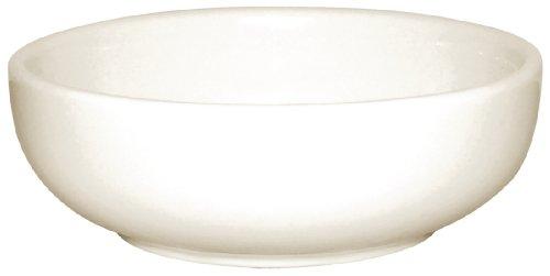 Olympia Ivory Bols à Soupe 425 ml en Porcelaine Crème - Entièrement Vitrifié - Va au Four, Micro Ondes et Lave Vaisselle - Paquet de 12