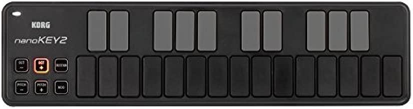 Korg, 25-Key Midi Controller (NANOKEY2BK),Black