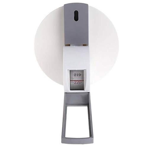 ZAK168 - Estadiómetro de pared, rollo de medición de altura precisa profesional para el hogar, 2,2 m, regla de rollo de medida de tamaño de crecimiento para niños y adultos, unidad métrica