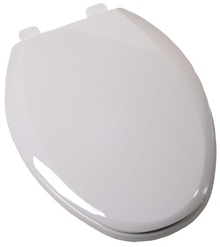 Plum Best C3B3E7S-00 Elongated EZ-Close Toilet Seat