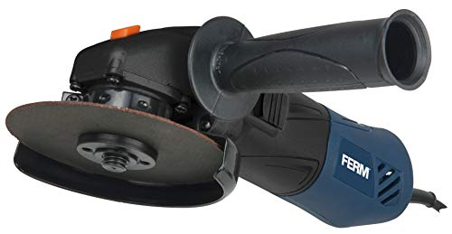 FERM Winkelschleifer- 500W - 115mm - Mit Elektronische Wiederanlaufschutz und verstellbare Seitengriff
