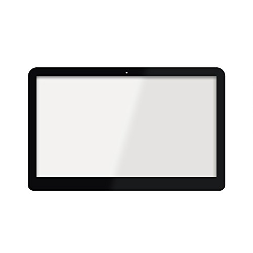 LCDOLED Replacement 15.6 Touch Screen for HP Pavilion x360 15-bk010nr 15-bk015nr 15-bk021nr 15-bk074nr 15-bk075nr 15-bk076nr 15-bk151nr 15-bk152nr 15-bk153nr 15-bk020wm (Touch Digitizer+Bezel+Board)