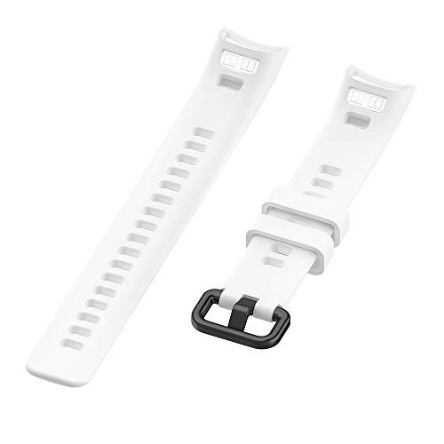 Pulseira de silicone para huawei honor banda 4 / band 5 smart watch substituição pulseira pulseira