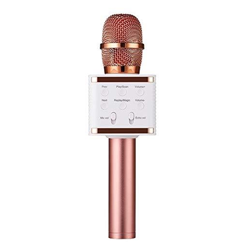QWQ Mikrofone, V7 Drahtlose Bluetooth-Mikrofon-Karaoke-Lautsprecher High-End Version Mic KTV-Spieler Telefon Mike Für Computer-Bühne Konferenz,D