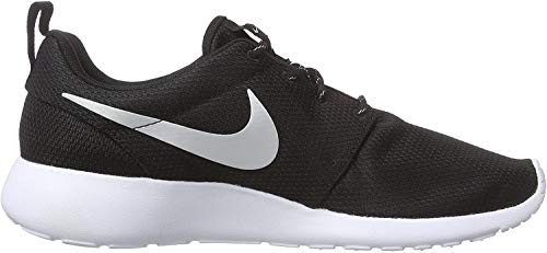 Nike Rosche Run Damen Sneakers, Schwarz (Black/White), 36 EU