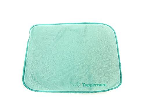 TUPPERWARE FaserPro Durchblick türkis T18 Brillenputztuch Putztuch Brille Handy