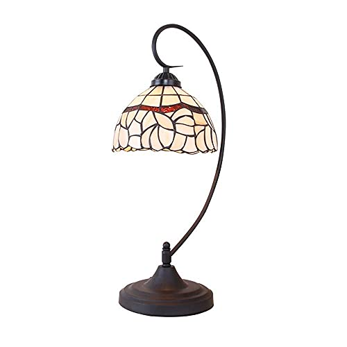 AMAFS Lámpara de Mesa Estudio Junto a la Cama Hoteles Creativo y Simple Lámpara de Mesa Tiffany Iluminación Beautiful Home