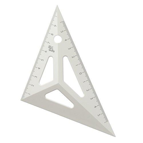 スリーエル 三角定規  黄 11624
