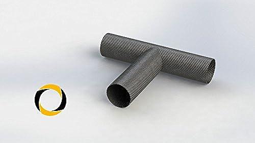 Ascending Composites Carbon Rohr T-Verbinder D1 = 30 mm  2 = 30 mm