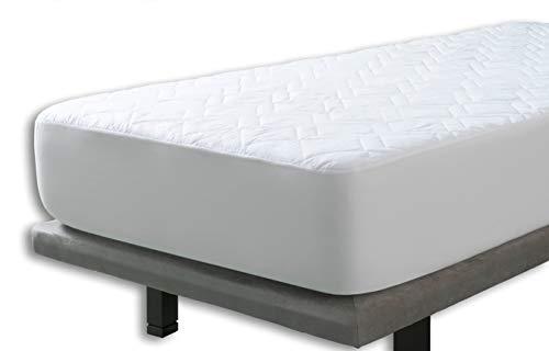 Cubrecolchon Microfibra Aloe Vera Reversible cama de 160x190/200 de Velfont