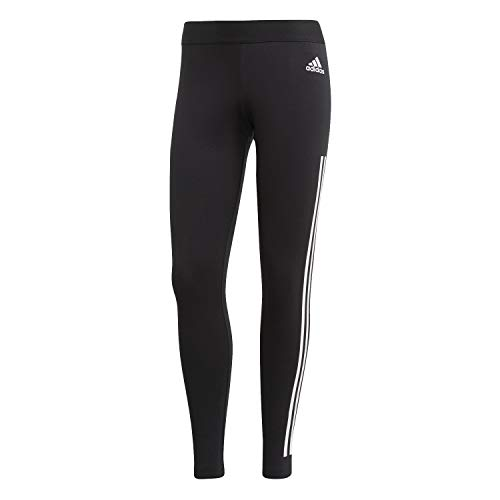 Adidas Must Haves 3-Stripes Tights W Mallas, Mujer, Negro (Black/White), M