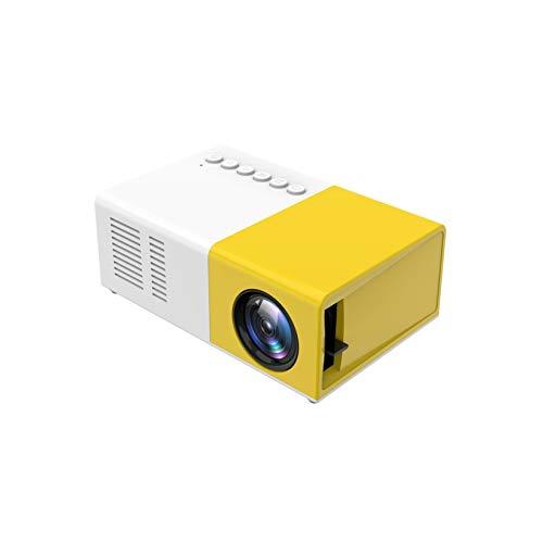 LORIEL Proyector HD, Pantalla 80 '' Compatible, Compatible con Teléfono Inteligente, TV Stick, Roku, PS4, Xbox, Full HD 1080P Admitido, 3D LED Home Theatre