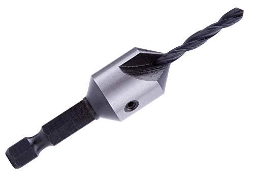 ENT 45670 Pilotbohrer WS, Durchmesser (D) 10 mm, D2 2,8 mm, GL 50 mm, S 1/4