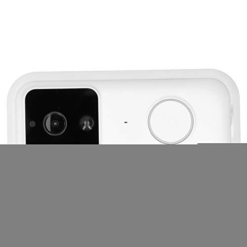 Timbre Video Timbre Cámara 2.4GHz WiFi Timbre inalámbrico Detección de movimiento Timbre PIR Timbre inteligente Timbre de visión nocturna con infrarrojos para iOS y Android