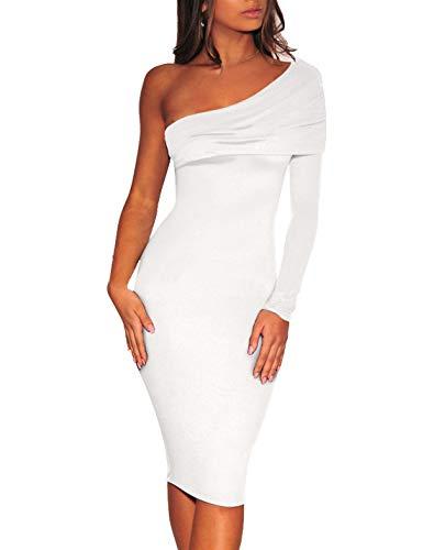 Smalltile Jeune, modieuze jurk met lange mouwen, nauwsluitend, midijurk, partyjurk, lente herfst, vrouwen, sexy potlood jurk