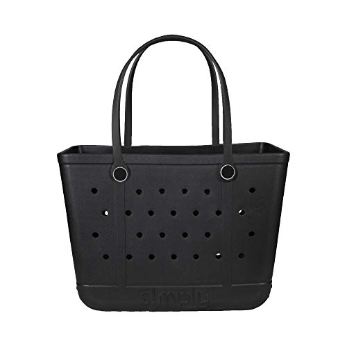 SIMPLY SOUTHERN SIMPLY TOTE SLD LARGE BLACK
