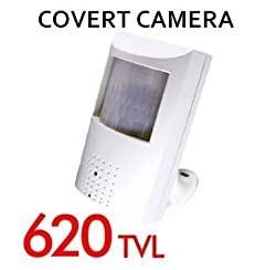 Eyemax Covert Camera in PIR Case  620 TVL High-res with Hidden Lens