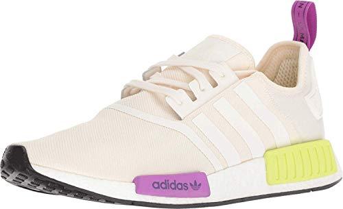 adidas Originals NMD_R1 Shoe - Men's Casual 11 Chalk White/Semi Solar Yellow -  D96626-100