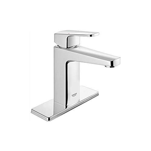 GROHE 23838000 Tallinn 4 in. Centerset Single-Handle Bathroom Faucet -Starlight Chrome