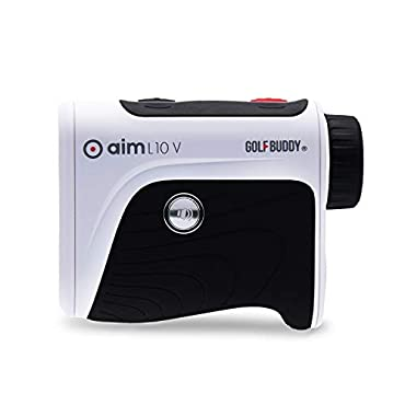 GolfBuddy AIM-L10V Aim L10V Ergonomic Golf Distance Talking Laser Rangefinder