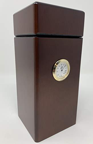 Special Edition Humidor Authentic Vertical Design (Spanish Cedar) Made in North America (Walnut Matte)