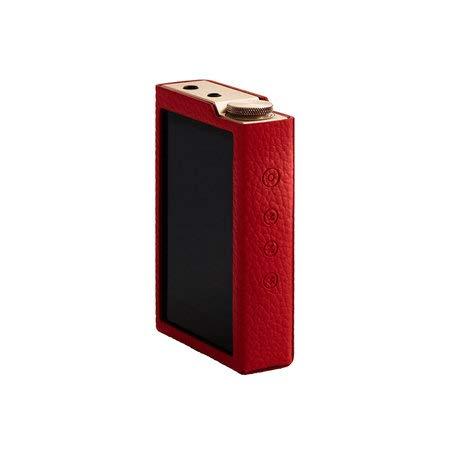 Leather Case for Cowon Plenue D3, Red Color (PD3)