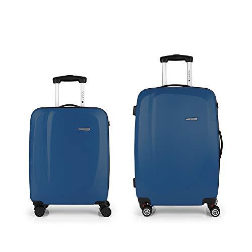 Gabol Line Jeu de valises S-M, Bleu (Blue) - 112304003