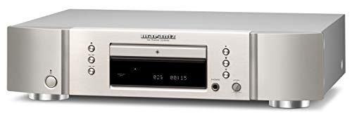 Marantz CD5005 Lettore CD Hi-Fi, CD, CD-R/RW, MP3, WMA, CD Text, Argento/Oro
