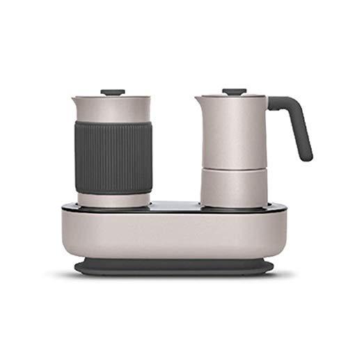 Koffiemachine for huishoudelijk gebruik Mini Fancy Koffiezetapparaat Simple Press Coffee Brewing Milk Machine koffiemachine met Timer Eén druk op de knop gemakkelijk schoon te maken 8bayfa