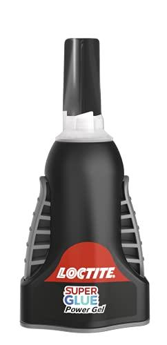 Loctite Super Glue Power Flex Control, Flexible Super Glue Gel, Superglue with Non-Drip Formula for Vertical Applications, Clear Glue with Precise Nozzle, 1x3 g