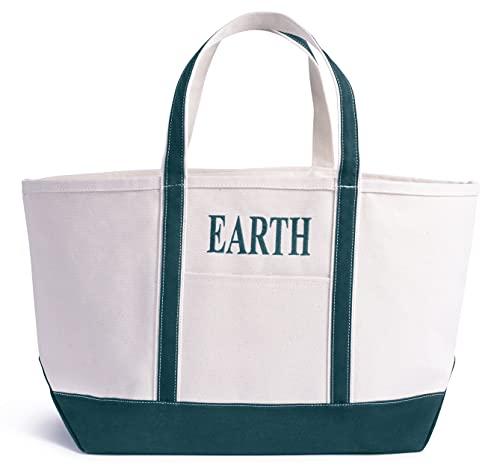 Bolsa Lona XL Tote Bag * PERSONALIZABLE con bordado * Ultraresistente * Playa, Barco, Campo, Picnic,...