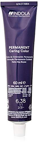 Indola Haarfarbe Permanent Caring Pixel 6.38Dunkelblond Gold Schoko, 60 ml